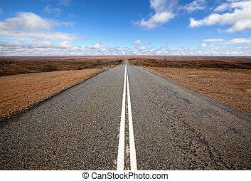 straße, rgeöffnete, outback