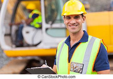 Straßenbauleiter