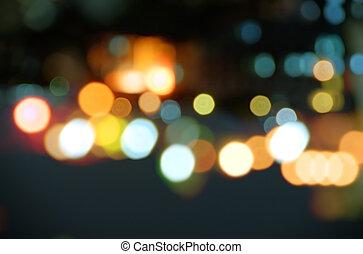 Straßenfleck