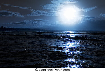 Strandabend.