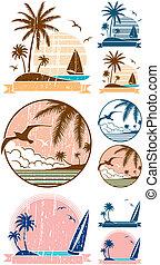 Strandsymbole