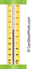 Street Thermometer.