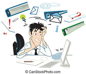 Stress an deinem Schreibtisch