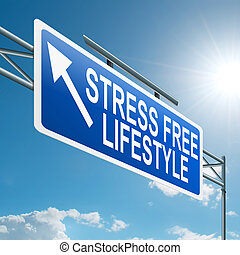 Stressfreies Leben.