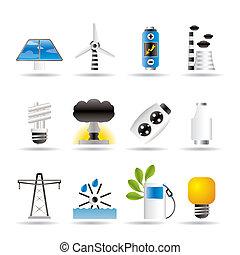 Strom, Energie und Strom.