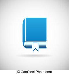 Studie Lesezeichen-Symbol-Icon Design Vorlage Vektor Illustration.