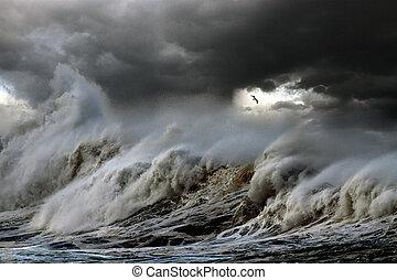 Sturm auf See