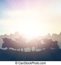 Summer pastel Hintergrund.