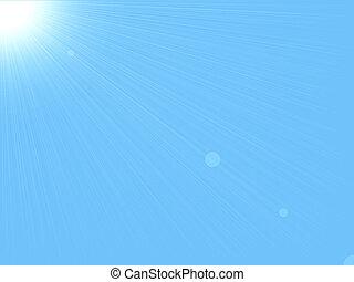 Sun & Sky Hintergrund