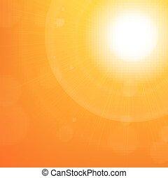 Sunburst Hintergrund.