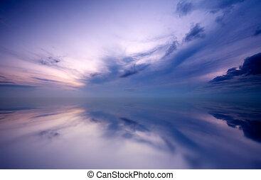 Sunset Hintergrund