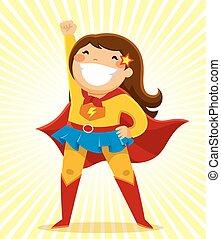 Super-Mädchen.