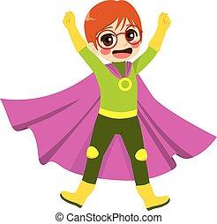 Superheld-Nerd.