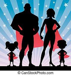 Superheldenfamilie