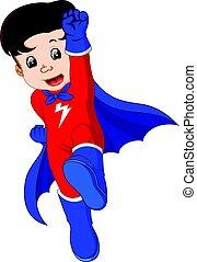 Superheldentrickfilm.