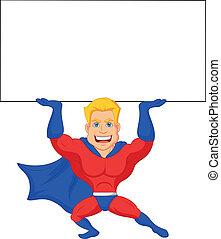 Superhero Cartoon präsentiert