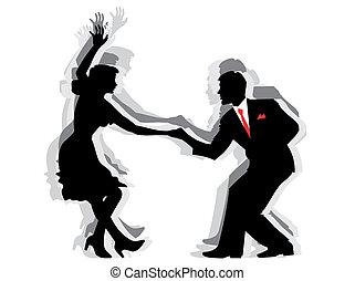 Swing-Tanzpaar