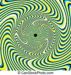 Swirlpool (Motion illusion)