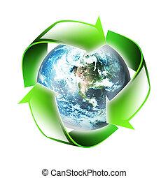 Symbol der Umwelt.