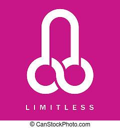 symbol, grenzenlos, penis-, ikone