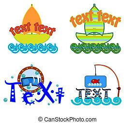 Symbol, Logo-Vektor.