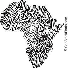 Symbolafrika in der Tigerumlage