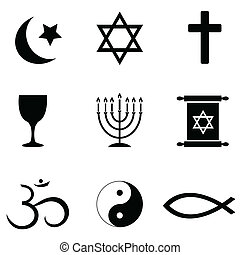 symbole, fromme ikonen