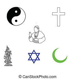 symbole, religiöses
