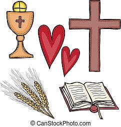 symbole, satz, religiöses