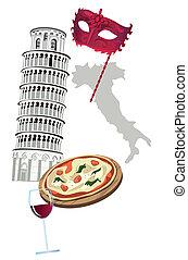 Symbole von Italien