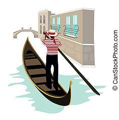 Symbole von Venice