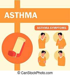 symptome, asthma, banner