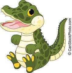 töchterchen, krokodil