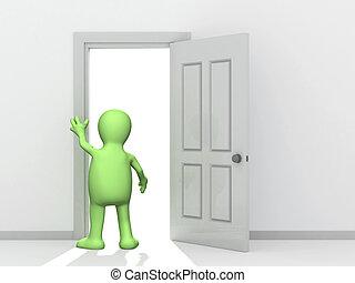 Tür öffnen