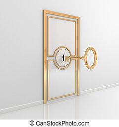 Tür abbrechen