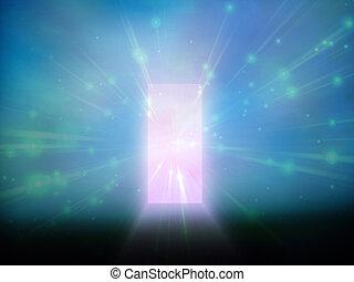 Tür des Lichts