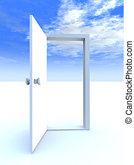 Tür zur Freiheit