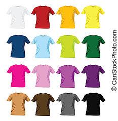 T-Shirtfarbene Muster
