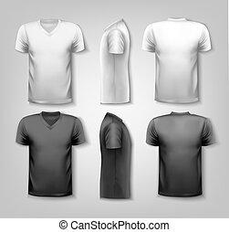T-Shirts mit Text-Sammlung. Vector.