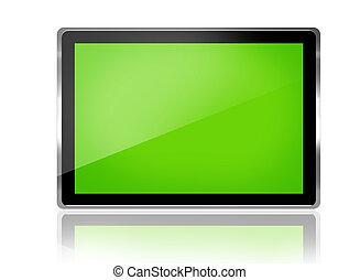 tablette, digital