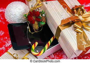 tablette, zuckerl, am besten, geschenk, weihnachten, pc, kasten