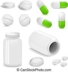 Tabletten und Tabletten