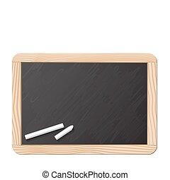 Tafel und Kreide