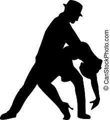 Tango-Tanzpaar.