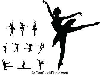 Tanzmädchen-Ballett