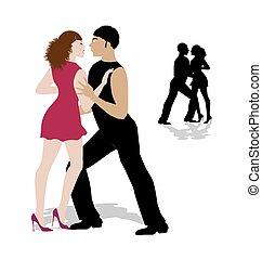 Tanzpaar.