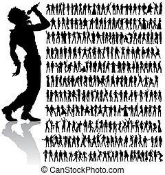 Tanzt und singt den Leuten große Stücke