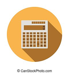 taschenrechner, statistisch, ikone