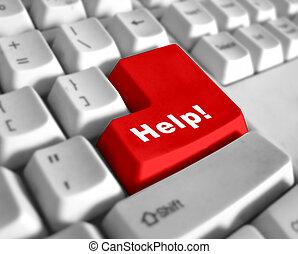 Tastatur, Hilfe