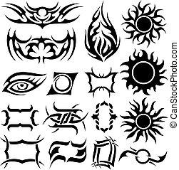 Tattoo-Set